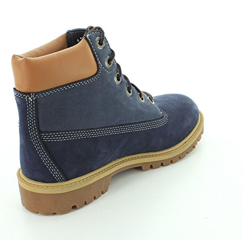 Timberland Pokey Pine 6in, Bottines Mixte Enfant blue