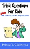 Trick Questions For Kids