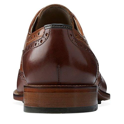 Clarks Limit Penton Tan Combination Leather