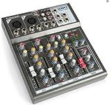 Mischpult Mixer DJ USB 4Kanal Player USB MP3SD Karte Echo Delay Micr