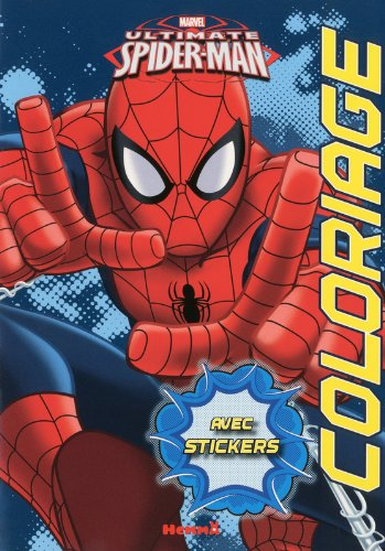 Marvel Ultimate Spider-man - Coloriages avec stickers