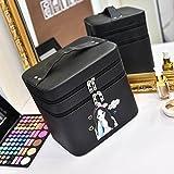 Kosmetische aufbewahrungsbox kosmetische tasche kosmetik outdoor travel mode bad make-up-organizer make-up make-up-pinsel-lagerung freundin geschenk Überraschung jungen für mädchen lippenstift-halter bag portable wasserdicht damen-A