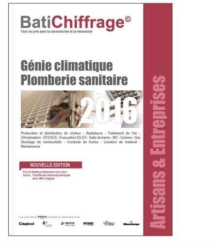 L'annuel des prix BTP : Artisans et entreprises - génie climatique plomberie sanitaire
