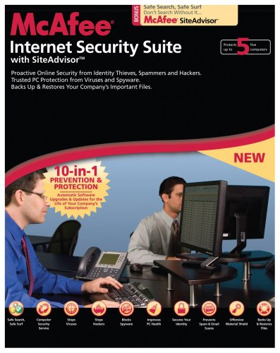 McAfee Internet Security Suite 2008 Small Business Edition (5 User Edition) (PC)
