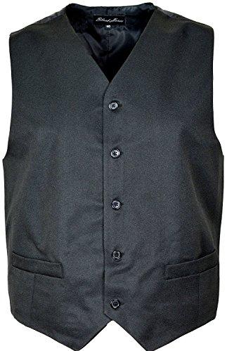 Pour homme Noir Sous-vêtement Gilet avec a de fleurs sortant d'un de satin de plusieurs tailles dans la poitrine 3450 Noir