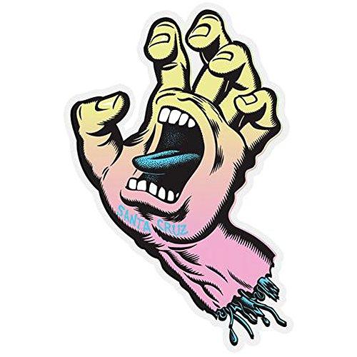 Santa Cruz Screaming Hand Pastel 2
