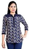 Carrel Women 3/4 Sleeve Printed Top