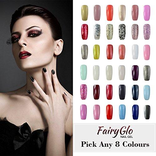 fairyglo-pick-any-8-colors-soak-off-gel-nail-polish-uv-led-color-nail-art-gift-set