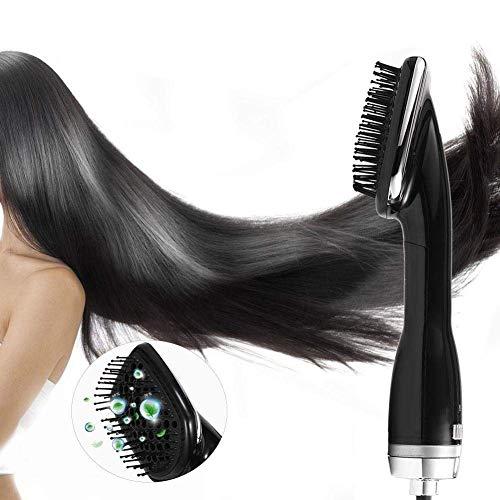 Sèche-Cheveux Brosse Redresseur De Cheveux Peigne Négatif Ionique Électrique À Air Chaud Brosse