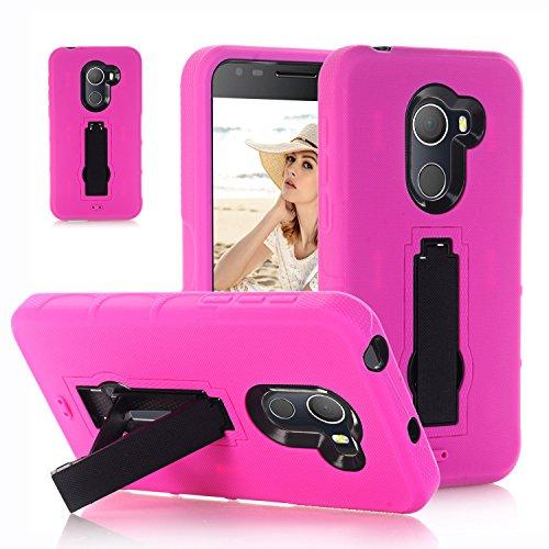 F&a® Festigkeit Smartphone Hülle mit Kickstand für Alcatel A30 Plus(6)