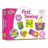 Four easy-to-sew pre-cut foam pieces. Stitch the pre-cut foam pieces together. Make a neck purse, picture frame, notepad cover and pencil case. A lovely way to introduce sewing to young kids. Great for encouraging creativity. Also includes tw...