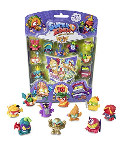 SUPERZINGS- Blíster 10 Serie 5 Figuras coleccionables, Multicolor (Magic Box PSZ5B016IN00)
