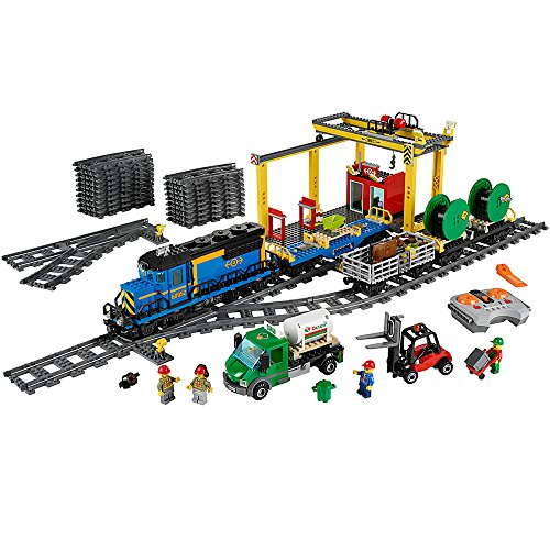 LEGO City Trains Cargo Train 60052 Building Toy by
