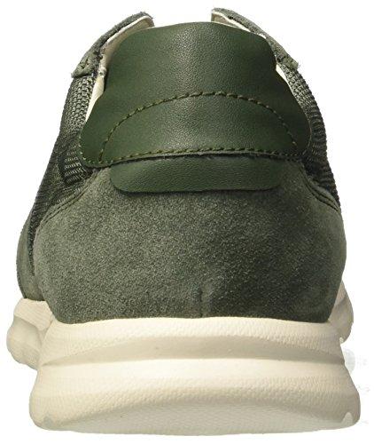 Geox Herren U Damian C Sneaker Grün (Sage)