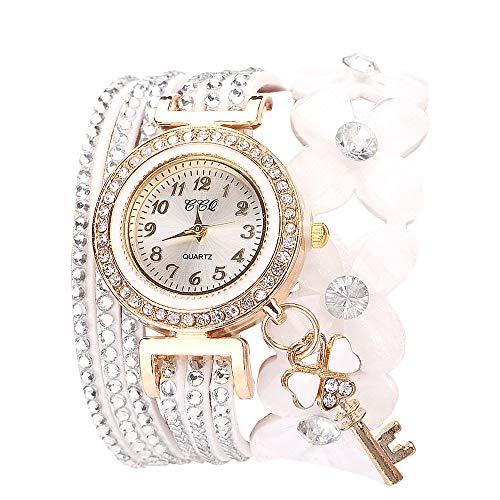 Orologi uomo economici fiori di ginevra orologi alla moda elegante quarzo braccialetto ladies diamante watch