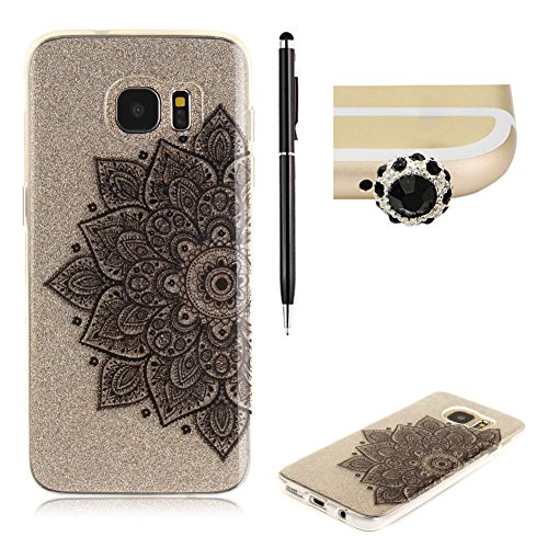 samsung-galaxy-s7-edge-siliconeskyxd-crystal-clear-with-black-half-flower-design-pattern-soft-gel-pr
