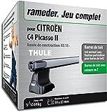 Pack Rameder barres de toit SlideBar pour CITROËN C4 Picasso II (115067-11238-1-FR)