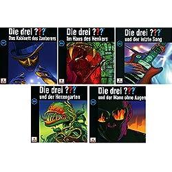 Die Drei ??? (Fragezeichen) - Folge/CD 181-185 im Set - Deutsche Originalware [5 CDs]