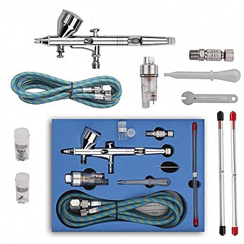 Art Supplies Airbrushing Supplies Bright Gocheer Airbrush Universal Replaceable Nozzle And Needle 0.2mm 0.3mm 0.5mm Kit