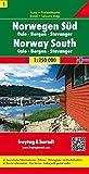 Road Map (en anglais) : Norwegen Süd