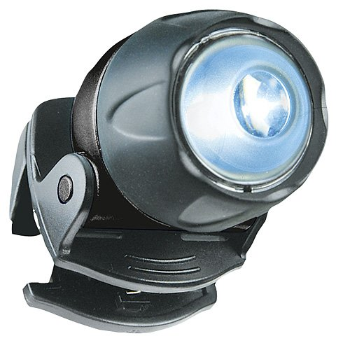 LiteXpress Liberty 105 schwarz, Kopflampe/Stirnlampe, 1 LED Nichia ø 5mm (Standard), Clip - 3