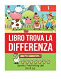 Libro Trova La Differenza: Libro Per I Bambini Puzzle: 1