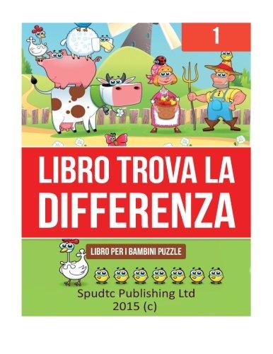 1: Libro Trova La Differenza: Libro Per I Bambini Puzzle