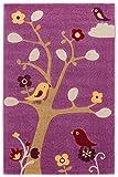 Kinderteppich / Spielteppich / Babyteppich / Kinderzimmerteppich / Teppich Modell Newcastle Bird Kinderteppich / in verschiedenen Größen erhältlich (100cm x 150cm)