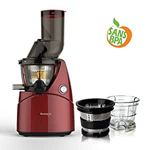 pack kuving 39 s b9000 extracteur de jus vertical avec kit smoothies rouge. Black Bedroom Furniture Sets. Home Design Ideas
