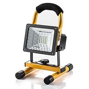 projecteur led rechargeable super lumineuse 15w floodlight. Black Bedroom Furniture Sets. Home Design Ideas