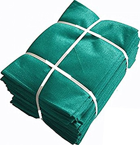 Shade Net 50% Uv Stabilized Garden Netting House Agro, 30 Sq. M (Green, 10 x 32 Ft)