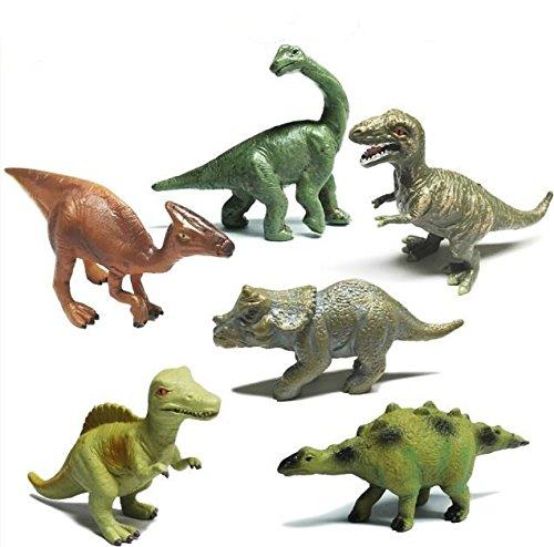 XLWJ_kl Mini Dinosaurier Spielzeug PVC Solide tiermodell Display Simulation Statische Kleine Dinosaurier