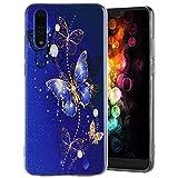 Cover Huawei P20, Amcor Love Custodia Morbida TPU Ultra Leggere Silicone Phone Cover Completa Protettivo Anti-graffio Antiurto Bumper Case Custodia per Huawei P20 Case