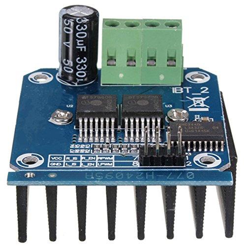 Ils - Semiconductor BTS7960B Motortreiber 43A H-Brücke PWM-Antrieb für Arduino