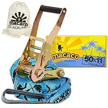 Macaco Travel Slackline 11m...