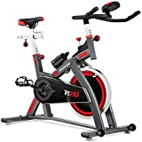 Fitfiu - BESP300 Bicicleta Spinning BESP24 Profesional Volante inercia 24kg Pantalla LCD,...