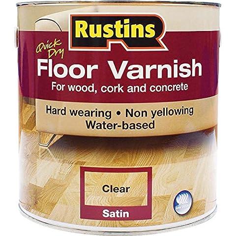 Rustins Quick Dry Floor Varnish Gloss 5 Litre