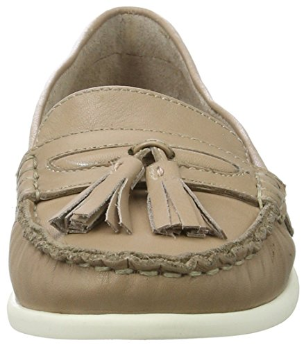 BIANCO - Tassel Sailor Loafer Jfm17, Mocassini Donna Beige (nougat)