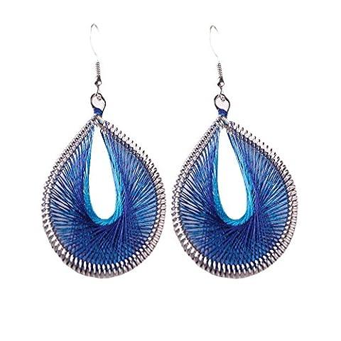 erthome Different Bohemian Style Wind Handmade Earrings Individuality Earrings