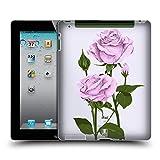 Head Case Designs Pfund Silber Rosen Und Wildblumen Ruckseite Hülle für iPad 2 (2011)
