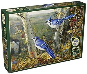 Cobblehill 80021 - Puzzle (1000 Piezas), Color Azul