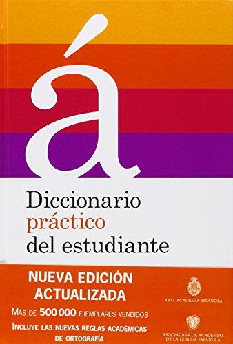 Diccionario práctico del estudiante 2012 - América (DICCIONARIOS RAE ESCOLAR) por Real Academia