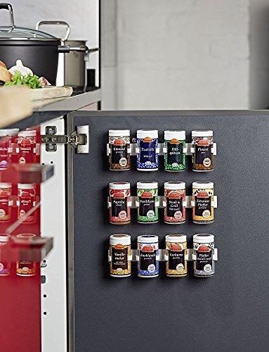 Gewürzhalter Gewürze Küche Halter Organizer Gewürzregal Gewürzständer Klammer