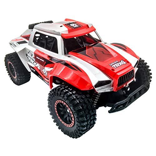 1:12 Skala Fernsteuertes Buggy LKW RC Monstertruck High Speed 2,4 Ghz Offroad Auto Schnelles Elektrisches Kletterwagen Für Erwachsene Kinder,Rot