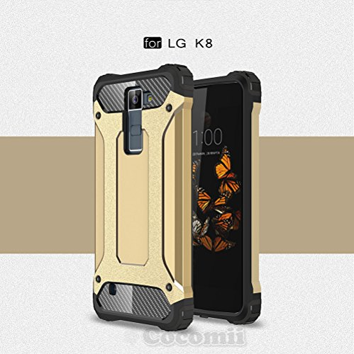 LG K8/Phoenix 2/Escape 3, C.Gold (Dragon Ball Z Phone Case Lg G3)