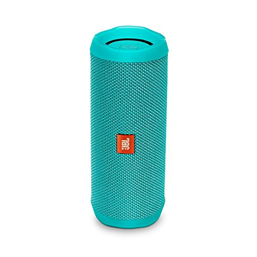 JBL Flip 4 Bluetooth Box in Petrol – Wasserdichter, tragbarer Lautsprecher mit Freisprechfunktion & Sprachassistent – Bis zu 12 Stunden Wireless Streaming mit nur einer Akku-Ladung