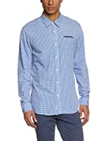 Scotch and Soda Herren Freizeithemd Crispy poplin