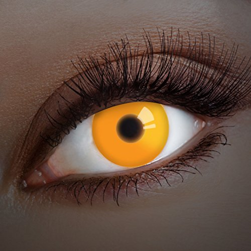 aricona Farblinsen UV Kontaktlinsen farbig Festival Gadget / Halloween Kostüm