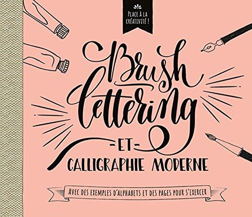 Brush lettering et calligraphie moderne : Avec des exemples d'alphabets et des pages pour s'exercer par Chantecler
