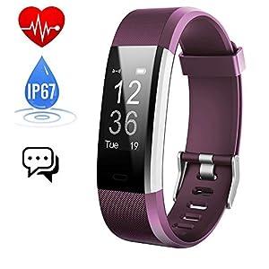 iPosible Pulsera Actividad Monitor de Frecuencia Cardiáco Pulsera Reloj